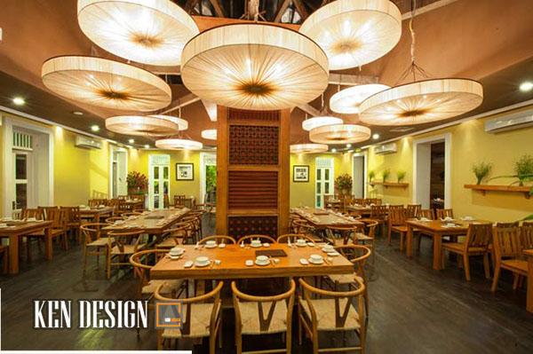 thiết kế nội thất nhà hàng 4 copy - Thiết kế nội thất nhà hàng sang trọng chuyên nghiệp