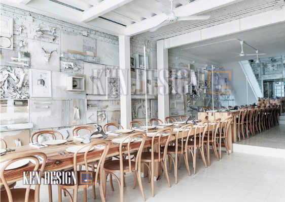 phoi mau trong thiet ke nha hang 16 562x400 - Thiết kế nhà hàng – Nghệ thuật phối màu sáng tạo