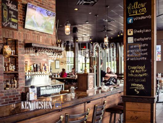 thiet ke nha hang bia 33 530x400 - Thiết kế nhà hàng bia tươi sang trọng đẳng cấp