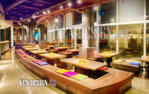 thiet ke nha hang han quoc 21 634x400 - Thiết kế nhà hàng Hàn Quốc hiện đại cách tân