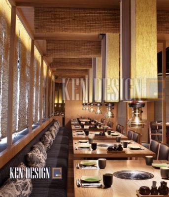 thiet ke nha hang nhat cach tan hay truyen thong 09 343x400 - Thiết kế nhà hàng Sushi Nhật Bản truyền thống