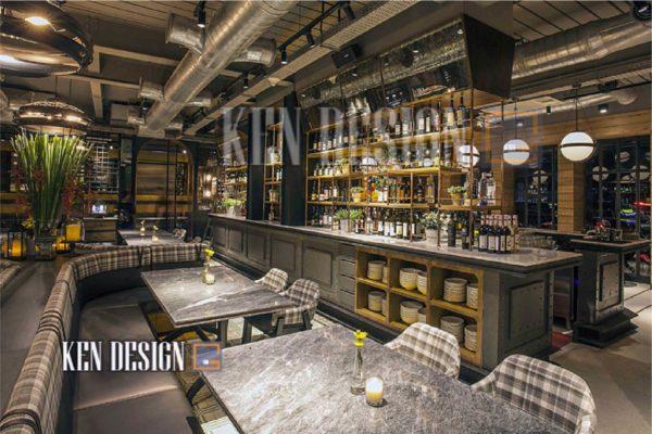 thiet ke nha hang nuong sang trong 18 600x400 - Thiết kế nhà hàng nướng sang trọng