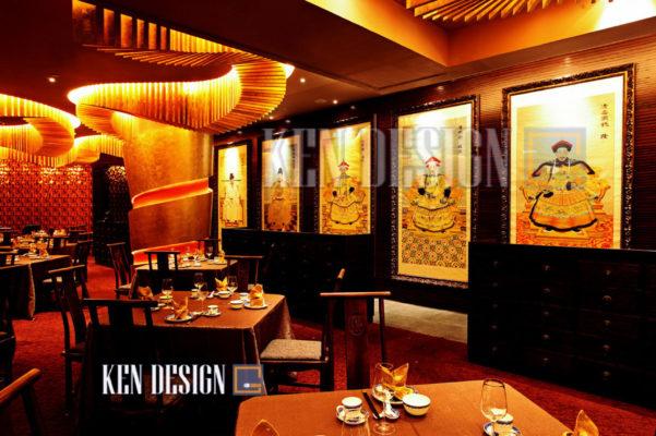 thiet ke nha hang trung hoa 02 601x400 - Thiết kế nhà hàng Trung Hoa – nét đẹp đậm chất phương Đông