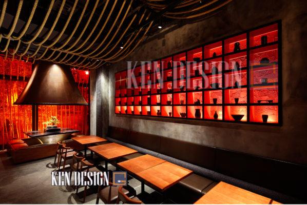 thiet ke nha hang trung hoa 04 598x400 - Thiết kế nhà hàng Trung Hoa – nét đẹp đậm chất phương Đông