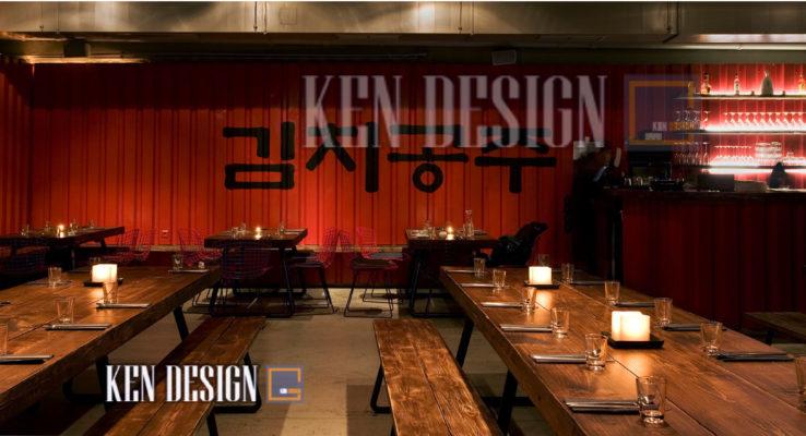 thiet ke noi that nha hang han quoc 39 738x400 - Thiết kế nội thất nhà hàng Hàn Quốc – Những yếu tố không thể quên