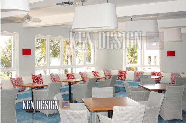 thiet ke noi that nha hang nho 32 602x400 - Thiết kế nội thất nhà hàng nhỏ trở nên rộng rãi thông thoáng