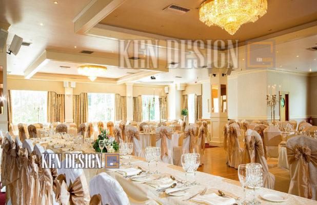 thiet ke noi that nha hang tiec cuoi 27 618x400 - Thiết kế nội thất nhà hàng tiệc cưới trang nhã phong cách