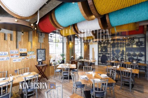 trang tri nha hang 06 601x400 - Những sai lầm khi trang trí nhà hàng sang trọng hiện đại