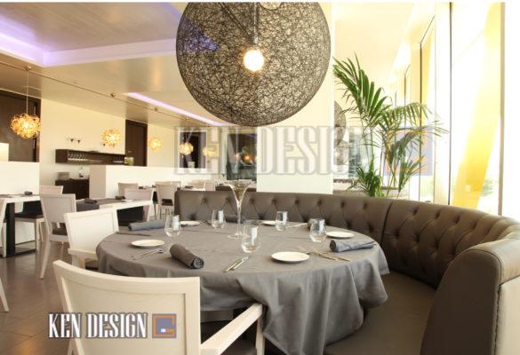 trang tri nha hang 18 585x400 - Trang trí nhà hàng – Nét chấm phá đầy ấn tượng