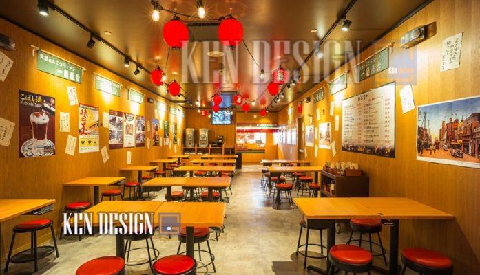 """nha hang ramen co don 50 697x400 - Ý tưởng thiết kế nhà hàng độc lạ - """"Nhà hàng Ramen cô đơn"""""""