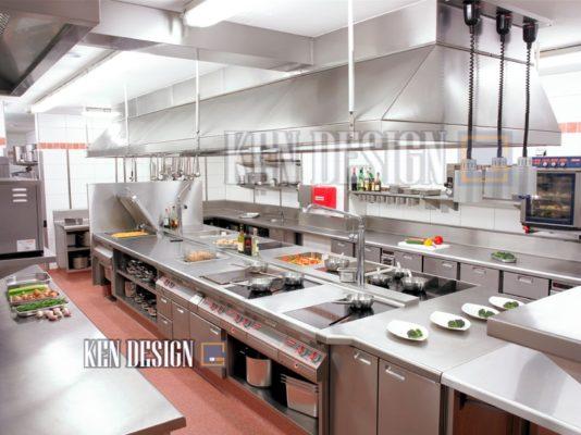 thiet ke bep 40 534x400 - Quy chuẩn nào để thiết kế bếp nhà hàng??