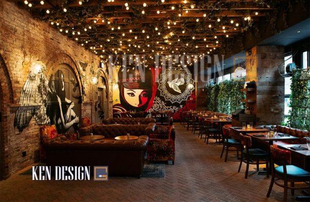 tieu chuan thiet ke ntnh 36 613x400 - Tiêu chuẩn thiết kế nội thất nhà hàng sang trọng – Đừng bỏ lỡ!