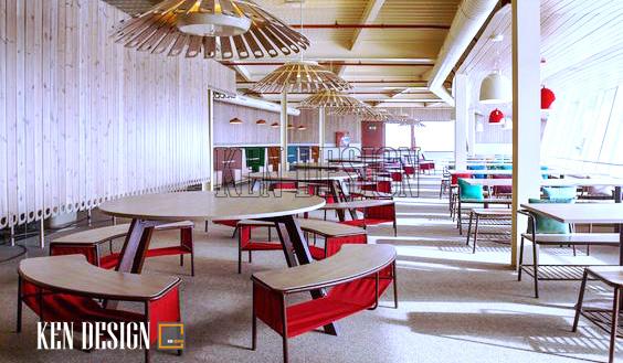 Lịch sử thiết kế nội thất nhà hàng