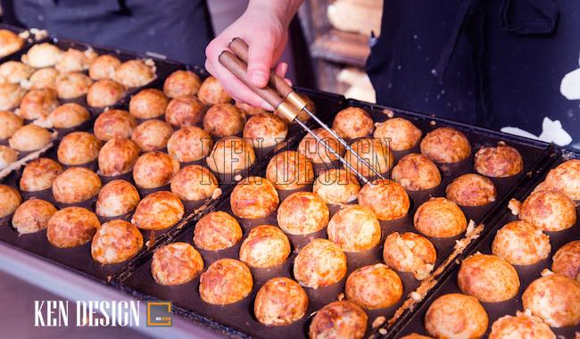 Nét độc đáo nghệ thuật đồ nướng Nhật Bản