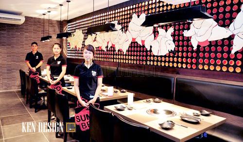 Sumo BBQ - Mô hình nhà hàng lẩu nướng Nhật Bản
