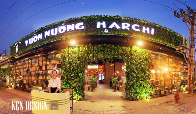 Vườn nướng Harchi