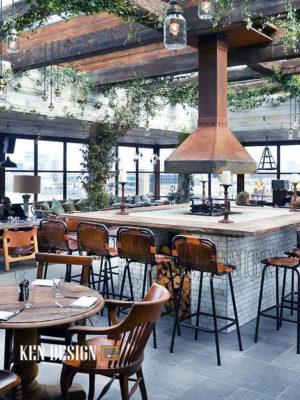Trang trí nhà hàng với nội thất sang trọng