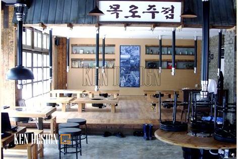 Những thiết kế nhà hàng đậm chất Hàn Quốc