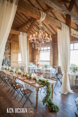 Trang trí nhà hàng tiệc cưới cổ điển