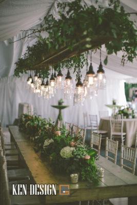 Ý tưởng trang trí tiệc cưới ngoài trời