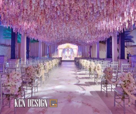 Thiết kế sảnh nhà hàng tiệc cưới sang trọng
