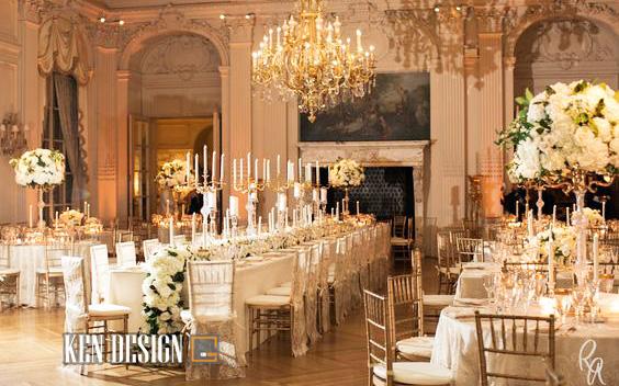 Tư vấn thiết kế nhà hàng tiệc cưới chuyên nghiệp