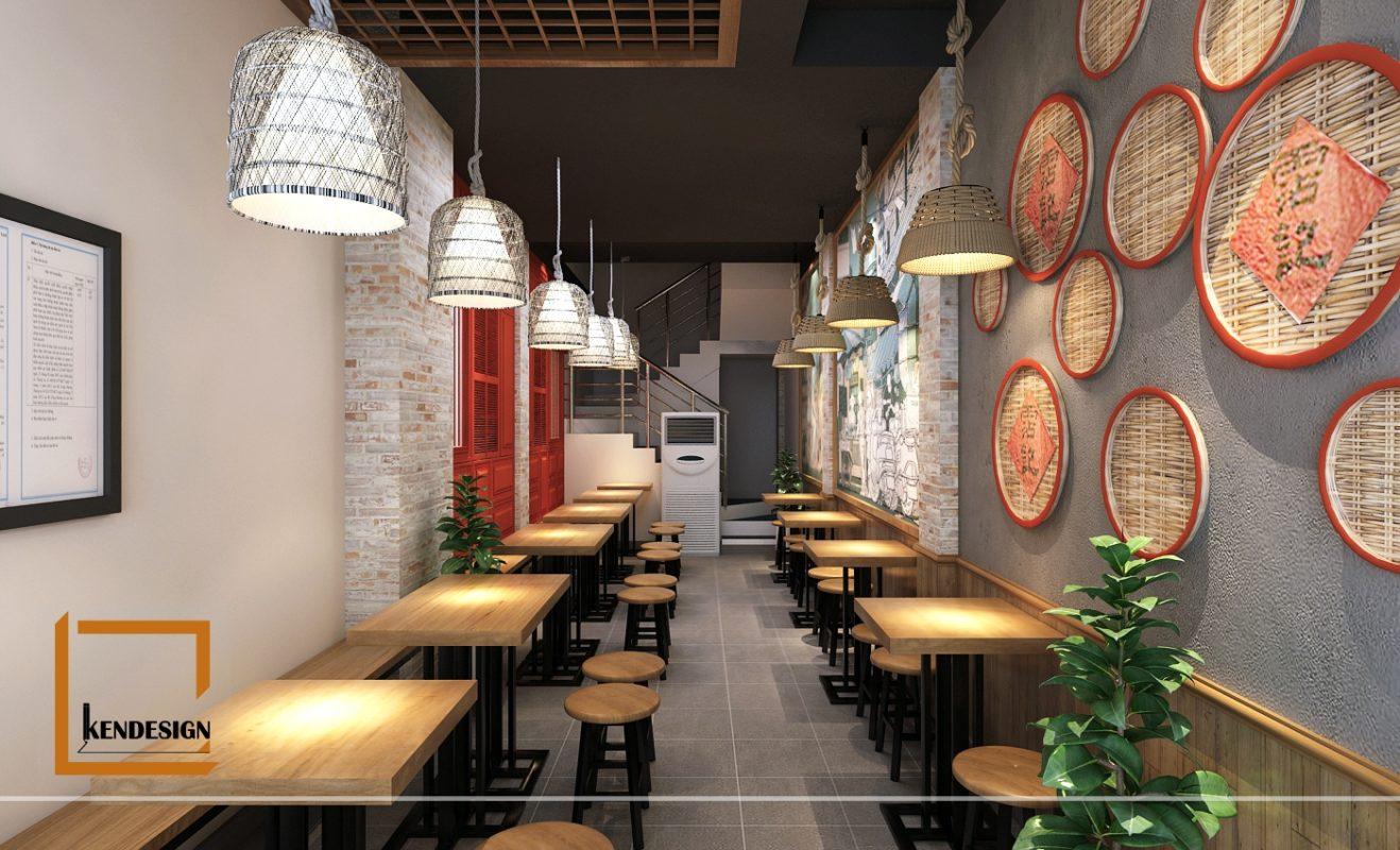 Thiết kế quán bún đậu mắm tôm Phất Lộc