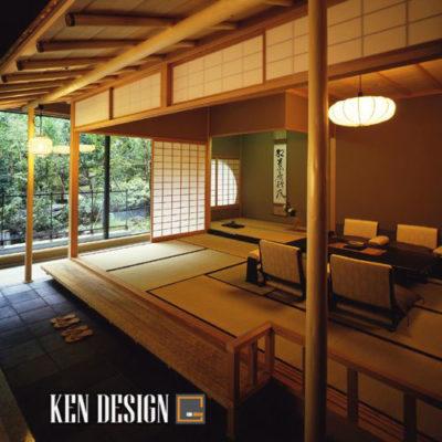 Nội thất nhà hàng đậm chất Nhật Bản
