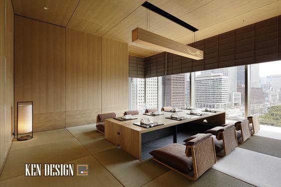 Xu hương thiết kế nhà hàng Nhật Bản