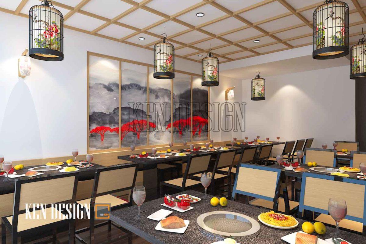 thiết kế quán lẩu 2 1200x800 - Thiết kế quán lẩu Tit's Food sang trọng tại Trần Khát Chân