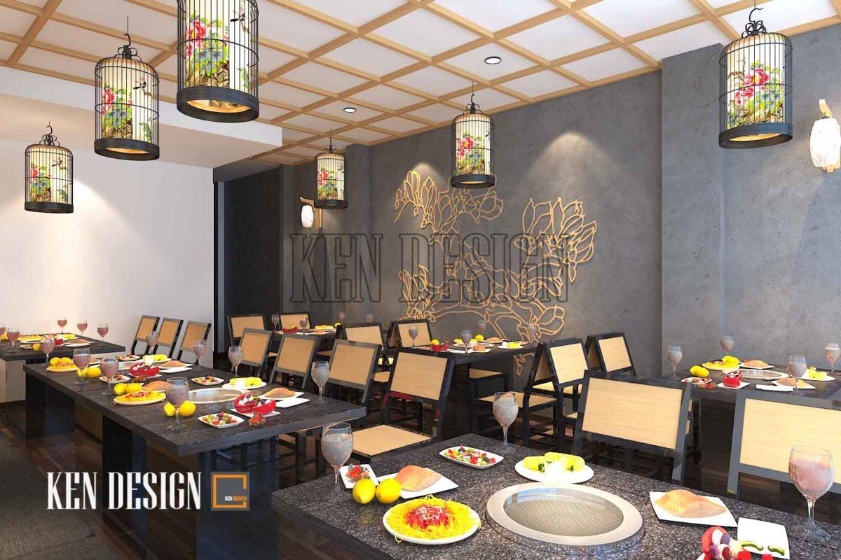thiết kế quán lẩu 5 1200x800 - Thiết kế quán lẩu Tit's Food sang trọng tại Trần Khát Chân