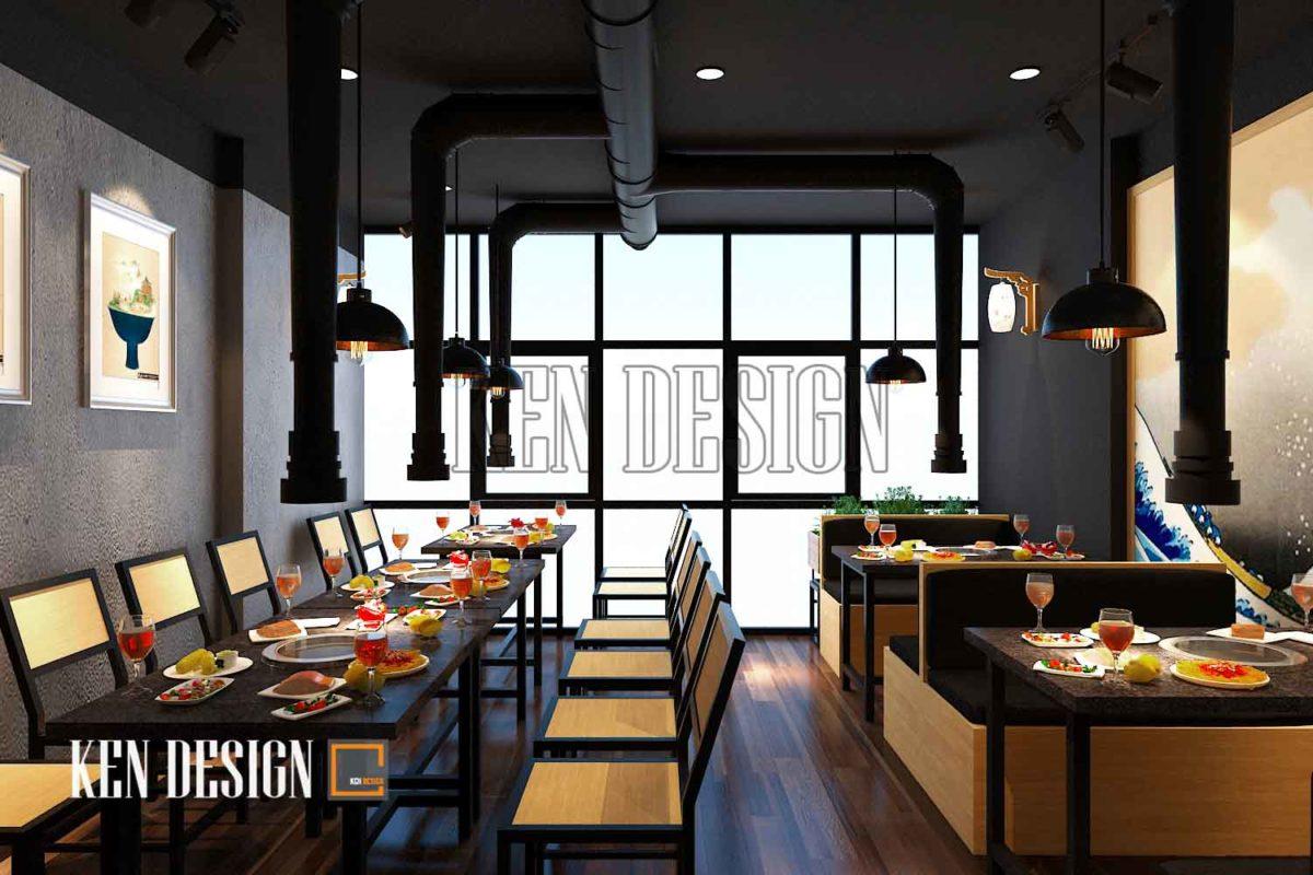 Thiết kế quán lẩu Tit's Food