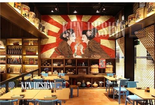 1a - 4 nguyên tắc cơ bản thi công nội thất nhà hàng theo phong cách Nhật Bản