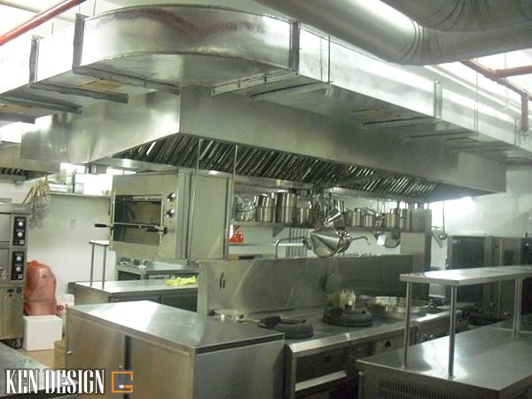 """hut mui bep 3 1 - Hút mùi bếp - """"Dũng sĩ"""" không thể thiếu cho bếp nhà hàng"""