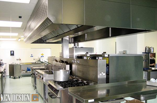 """hut mui bep 5 - Hút mùi bếp - """"Dũng sĩ"""" không thể thiếu cho bếp nhà hàng"""