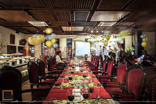 kih nghiem thiet ke nha hang buffet 3 600x400 - Điểm danh những kinh nghiệm thiết kế nhà hàng Buffet bạn nên biết