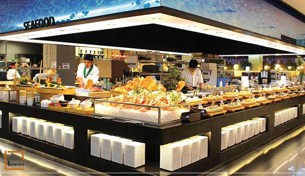 kih nghiem thiet ke nha hang buffet 5 - Điểm danh những kinh nghiệm thiết kế nhà hàng Buffet bạn nên biết