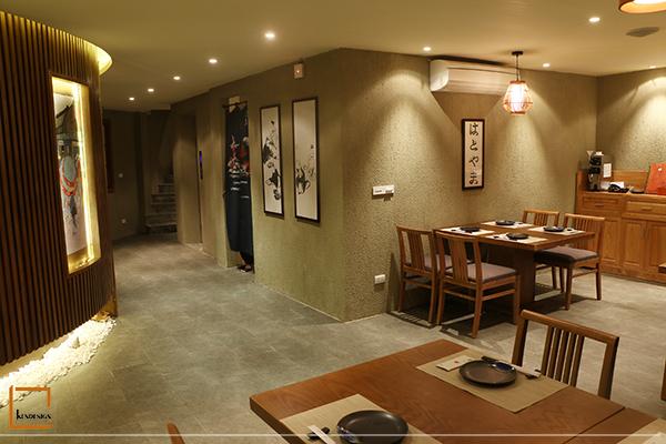 nha hang nhat ban 2 - Vai trò của tranh trang trí trong thiết kế nhà hàng Nhật Bản