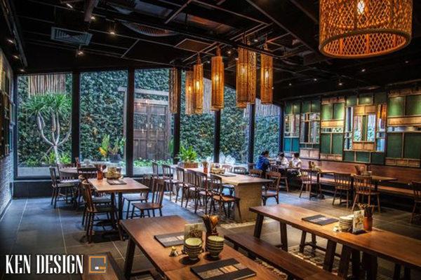 nha hang trung hoa 2 600x400 - Thiết kế nhà hàng Trung Hoa theo phong cách hiện đại