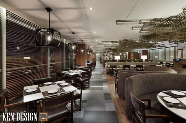 nha hang trung hoa 6 - Thiết kế nhà hàng Trung Hoa theo phong cách hiện đại