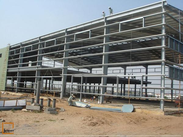 thi cong nha hang khung thep 1 - 4 bộ phận cấu kiện quyết định việc thi công nhà hàng khung thép