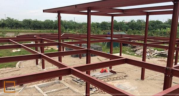 thi cong nha hang khung thep 3 - 4 bộ phận cấu kiện quyết định việc thi công nhà hàng khung thép