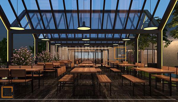 thiet ke ngoai that nha hang bia ngon an tuong 1 - Thiết kế ngoại thất nhà hàng Beer Ngon ấn tượng