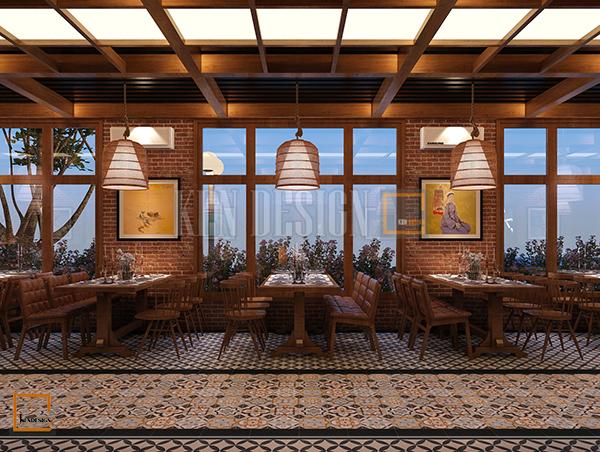 thiet ke noi that nha hang buffet soc son 2 - Thiết kế nội thất nhà hàng Buffet Sóc Sơn