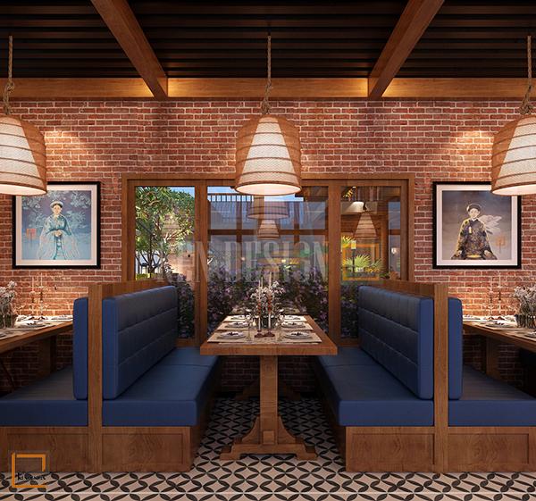 thiet ke noi that nha hang buffet soc son 3 - Thiết kế nội thất nhà hàng Buffet Sóc Sơn