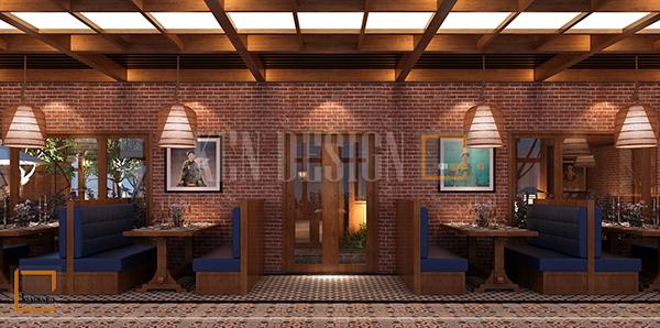 thiet ke noi that nha hang buffet soc son 5 - Thiết kế nội thất nhà hàng Buffet Sóc Sơn