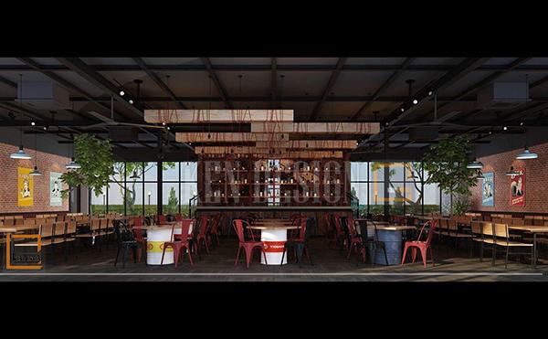 ve thu hut cua beer ngon 3 - Vẻ thu hút của Beer Ngon qua thiết kế nội thất nhà hàng