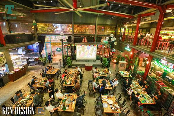 tuong kinh doanh khi dong ve thiet ke quan bia ket hop voi lau 5 600x400 - Ý tưởng kinh doanh độc đáo khi đông về: Thiết kế quán bia kết hợp với lẩu