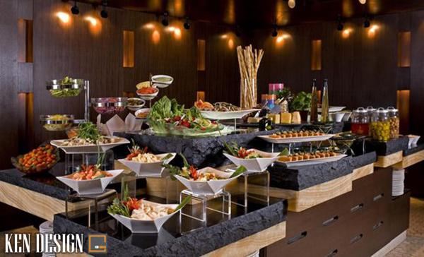 u diem khi thiet ke nha hang buffet 2 - Ưu điểm khi thiết kế nhà hàng Buffet so với các nhà hàng khác