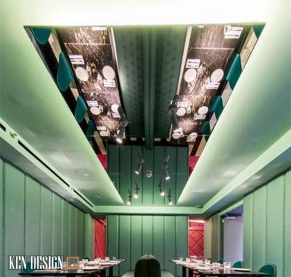 anh sang anh huong nhu the nao den thiet ke noi that nha hang 3 421x400 - Ánh sáng có ảnh hưởng đến thiết kế nội thất nhà hàng hay không?